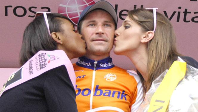 Меньшов, победитель Giro d'Italia 2009, 31 мая. Не хватает только выиграть Tour de France