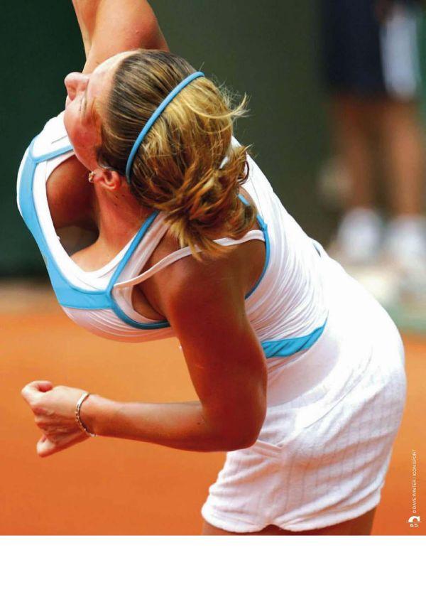 Румынская тенниссистка Симона Халеп. Роллан Гаррос