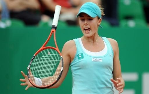 Одна из последних французских теннисисток и самая красивая Ализе Корне