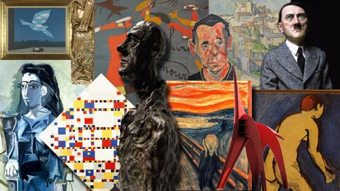 Конкурс. Выбери художника столетия.