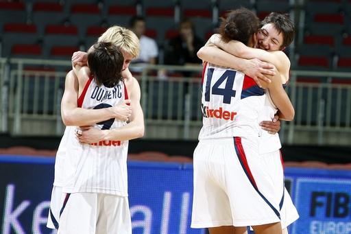 Француженки победили Россию в финале Евробаскета