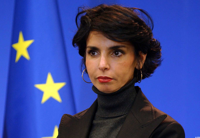 Rachida Dati в Европарламенте
