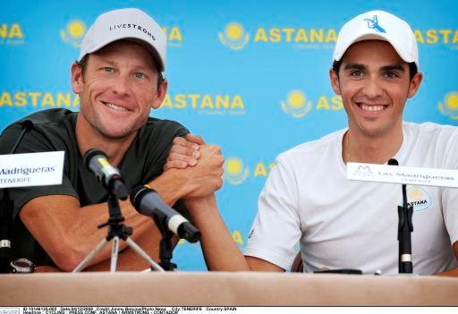 Дуэль Армстронг, Астана - Контадор, Астана, победитель ?