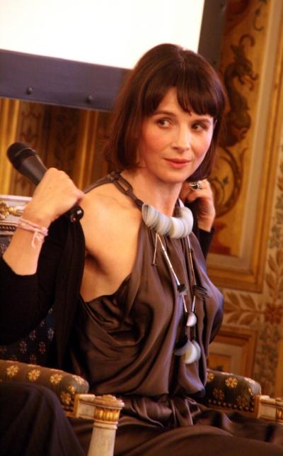 В Париже - новый спектакль с Juliett Binoche. 'In-I'