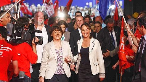 Руаяль и Обри помирились к выборам